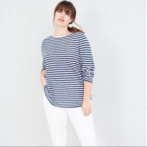 Eileen Fisher linen/cotton light sweater pullover